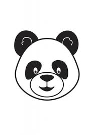 Small Picture Innocent and Cute Panda Coloring Pages