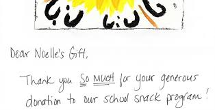 A Thank You Letter From The Students Of Sir John Moore Public School ...