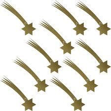 Set Stern Schweif 10 Stück Sterne Aufkleber Die Cut Tattoo