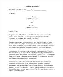 Love Agreement Template Living Agreement Contract Template Luxury 5 ...