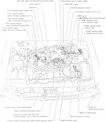 2001 nissan frontier engine diagram schematics wiring diagrams
