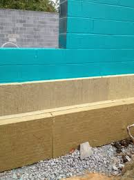 Passive House Mountain Lake Park Insulation  Gosnell Builders - Insulating block walls exterior