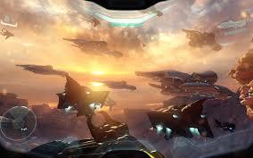 puter game ship wallpaper halo 5 guardians halo eship video games