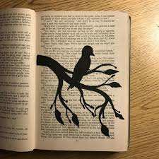 picture of repurpose an old book for art