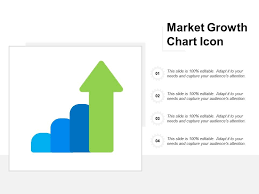 Market Growth Chart Icon Powerpoint Presentation Designs