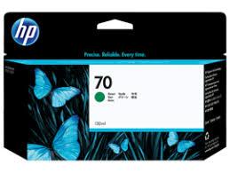 <b>HP 70</b> 130-ml <b>Green</b> DesignJet Ink Cartridge, C9457A (C9457A)