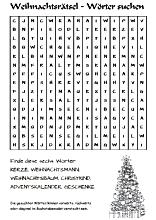 24 weihnachtsrätsel für erwachsene