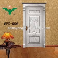 white color strong wooden door wood main door models