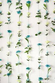Flower Wall Diy Flower Wall Headboard Home Decor Sweet Teal