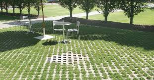 patio pavers with grass in between. Product: Turfstone™ Color: Natural Patio Pavers With Grass In Between