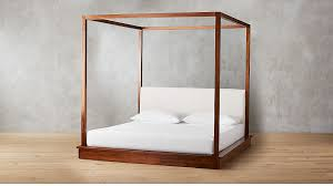 Bali Wood Canopy Bed King