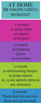 weight loss program at home 30 minute cardio workout 30 minute cardi