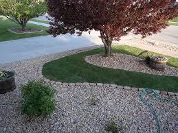 Garden Ideas:River Rock Landscape River Rock Landscaping Gives Your Home  Best Natural River Rock