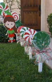 Candy Cane Yard Decorations Large Candy Canes Decor Festive Outdoor Decorations Pool Noodles 13