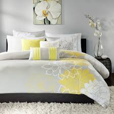 madison park brianna contemporary printed cotton duvet cover set