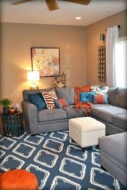 orange and blue living room ideas orange and blue living room colorful pillows are my favorite orange and blue living room ideas