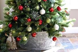 crate and barrel christmas tree decorating ideas skirt alternatives back porch musings crate and barrel christmas tree skirt e68