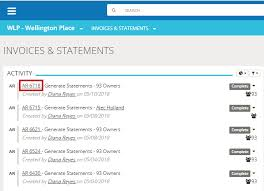 Statement Of Invoices Invoices Statements Generate Print And View Tops Software