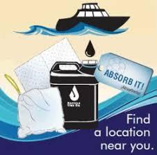 motor oil absorbing sheets marine motor oil absorbent exchange zero waste marin