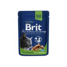 <b>Brit Premium Cat</b> Pouches - Chicken Slices - PetsOne.pk