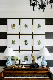 botanical gallery wall with stripes 5 simple gallery wall ideas  on gallery wall art ideas with 5 simple gallery wall ideas don t be afraid it s easy