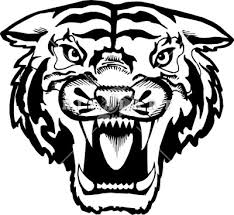 tiger face clipart black and white. Exellent Black Tiger Face Clip Art Black And White  Clipart Library  Free In
