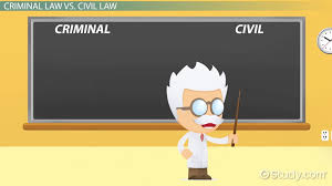criminal law vs civil law definitions and differences video  criminal law vs civil law definitions and differences video lesson transcript com