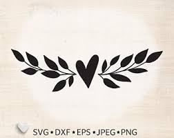 Download svg large png 2400px small png 300px premium vectors by. Heart Laurel Svg Etsy