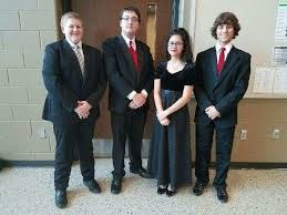 "Shane Knoche on Twitter: ""Ivy Jensen, Gabe Jensen and Ben Council at the  ISTA state honor orchestra with Kaeden Mickey from the JR High who also  made ISTA!… https://t.co/lYChmv350B"""