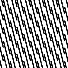 Line Pattern Extraordinary Seamless Monochrome Angular Line Pattern Vector Background Royalty