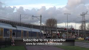 Songs in Dutch railroad crossing special edit Youtube.