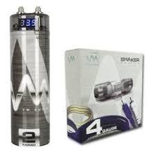 capacitors stinger shc5115 cap hybrid digital 15 farad amplifier vm audio srsk4b 4 gauge ga car amplifier amp wiring kit 2 farad power capacitor