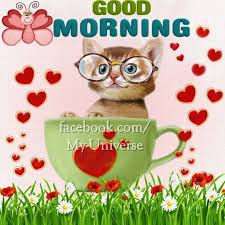 cute facebook good morning images