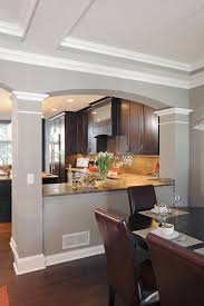 talk about a transformation a wall between the kitchen and dining room was opened up improving both es housetrends