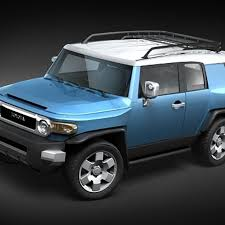 Toyota FJ cruiser lowpoly 3D Model $129 - .obj .lwo .fbx .c4d .max ...