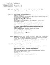 Resume - Daniel Wainless Industrial Design Portfolio