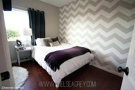 Chevron Bedroom Wall Chevron Bedroom Ideas Photo 2 Source A Chevron Bedrooms  Org Chevron Pattern Wall