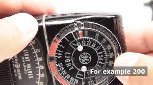 Ge Light Meter 217 How To Use Vintage Exposure Meter Ge Dw 58