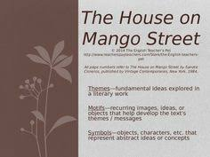 the house on mango street test sandra cisneros multiple choice the house on mango street themes motifs and symbols powerpoint