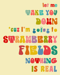 Beatles Quotes Love Impressive Strawberry Fields Forever 48 X 48 Sale Buy 48 Get 48
