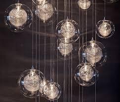 blown glass lighting. Incredible Hand Blown Glass Pendant Lights Lighting Foyer Staircase Chandelier