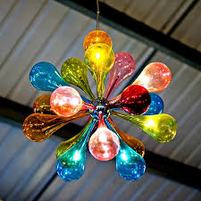 chandelier astonishing colored glass exciting in inspirations 17