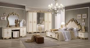 Barock Schlafzimmer Set In Beige Tessa 4 Teilig Ebay