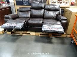 pulaski leather reclining sofa pulaski springfield power reclining sectional costco