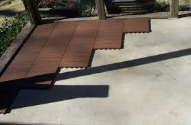 build a wood plastic composite deck build an outdoor floor