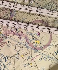 Sectional Chart Search Plotting A Flight Using Visual References And Calculating