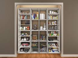 image of great tall corner pantry cabinet