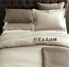 washed linen bedding french pure linen foreign trade pure linen bedding bed four piece set washed