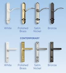 hardware color options for swinging french doors