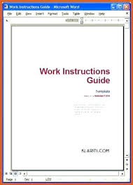 Writing Instructions Template Writing Instructions Template Twinkl Work Shiftevents Co